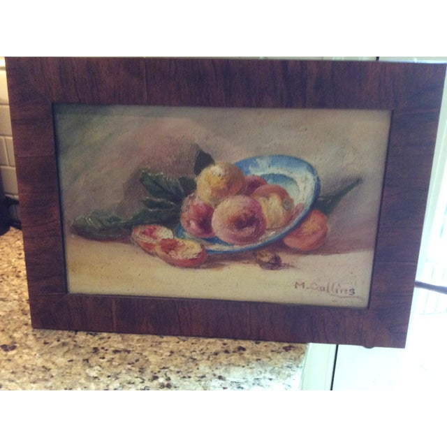 """""""Fruit"""" Still Life Oil Painting - Image 2 of 7"""