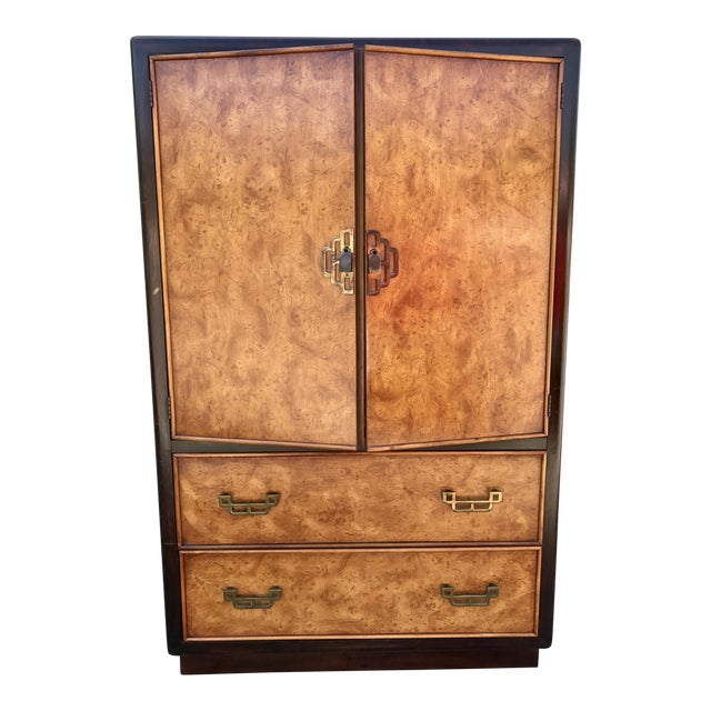 Dixie Asian Inspired Armoire For Sale