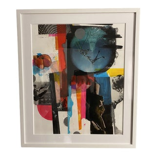 """Yes but No"" Original Collage by Artist Charles Wilkin For Sale"