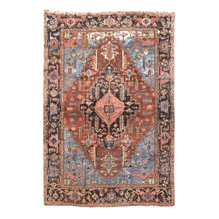 Heriz Persian Rug - 9′9″ × 12′6″ For Sale