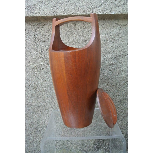 Early Teak Ice Bucket by Jens Quistgaard for Dansk For Sale In New York - Image 6 of 8