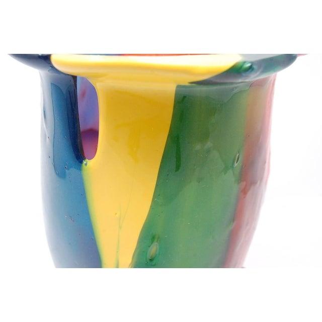 Memphis Amazonia Series Vase by Gaetano Pesce For Sale - Image 3 of 9