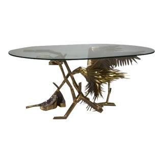 """C. Techoueyres Gueridon """"Aigle"""" Table"""