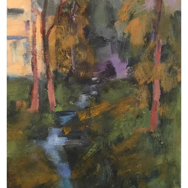 AMADOR CREEK - Original Oil Painting 9 x 12 on masonite panel. Unframed. Signed: Haas This scene was painted plein air on...