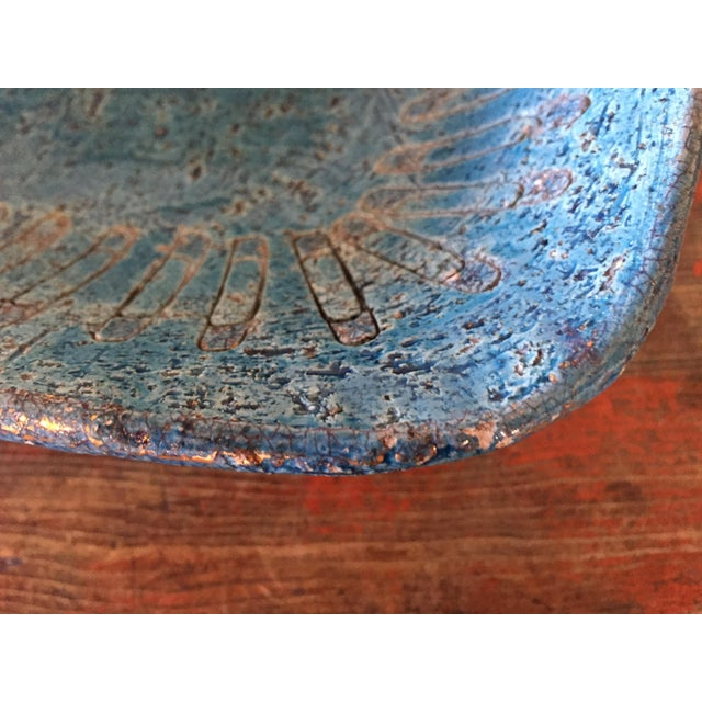 Bitossi Blue Bowl From Italy - Image 9 of 9