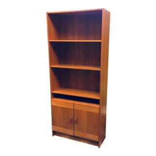 Domino Mobler Mid Century Modern Teak Bookcase For Sale