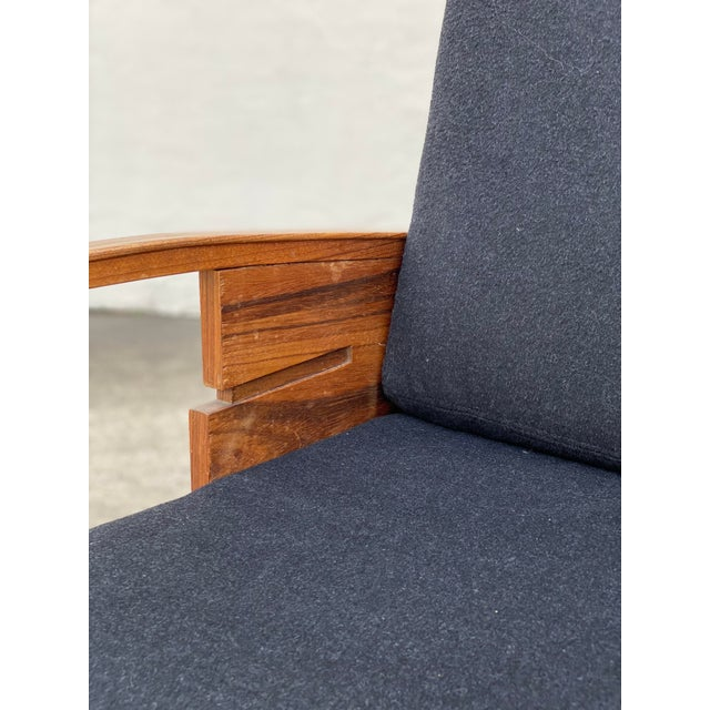 Danish Cabinetmaker Rosewood Armchair For Sale - Image 12 of 13