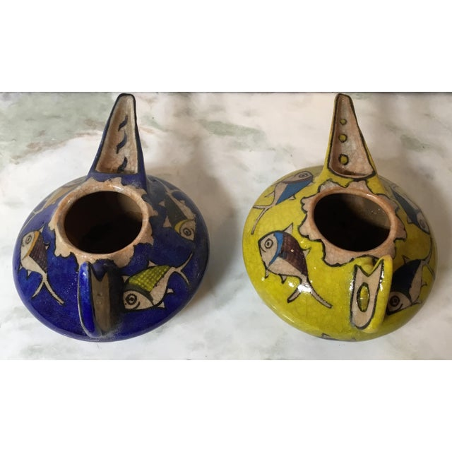 Vintage Persian Ceramic Vessels - a Pair For Sale - Image 9 of 13