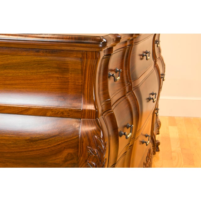 Boston Mills Ophis Solid Rosewood Commode For Sale - Image 4 of 8