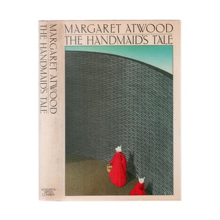 "1986 ""First Edition, the Handmaid's Tale"" Collectible Book For Sale"