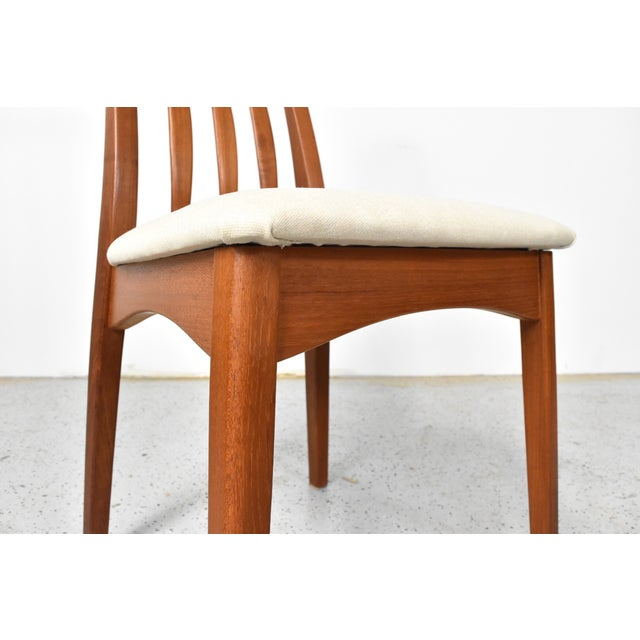 Benny Linden Teak Highback Dining Chairs - 6 - Image 9 of 11