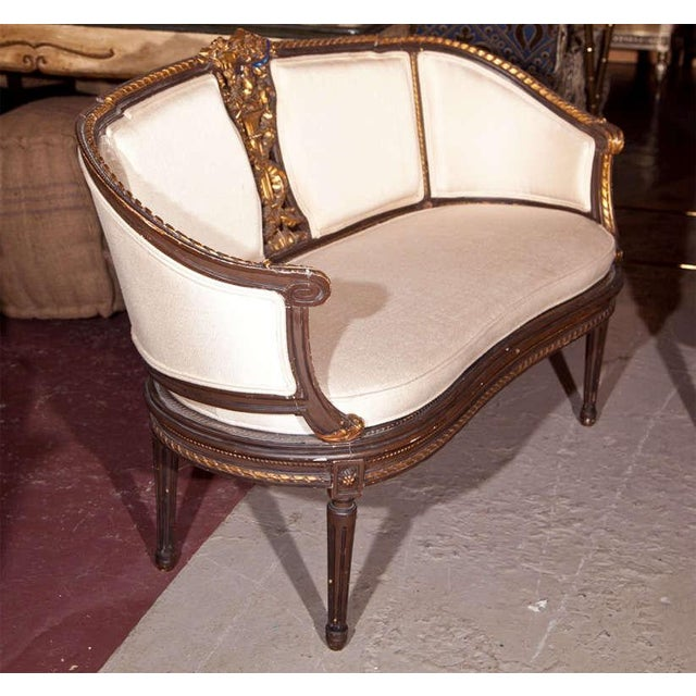 Louis XVI Canape Signed Guillaume Grohe For Sale - Image 4 of 6