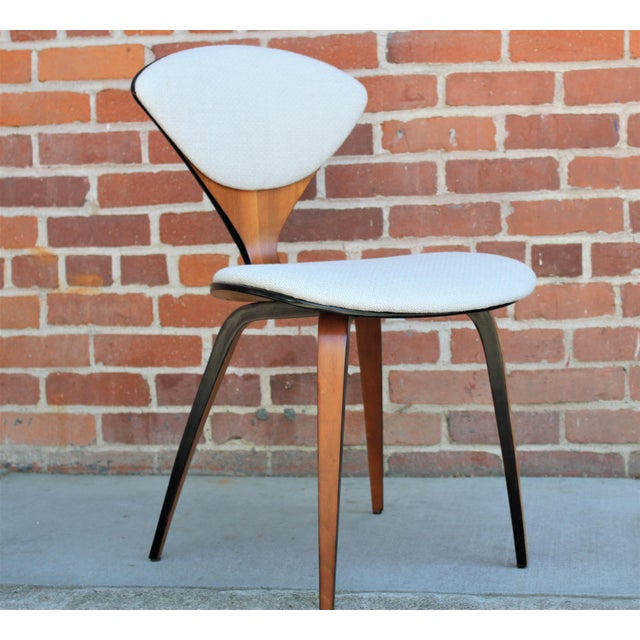 1950s Vintage Norman Cherner for Plycraft Molded Plywood Dining Chairs- Set of 6 For Sale - Image 9 of 13