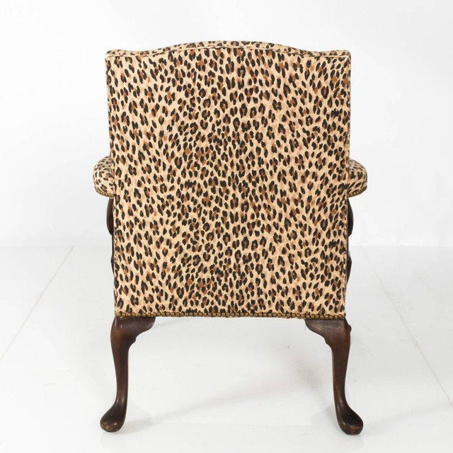 Early 20th Century Antique Mahogany Bergere Chair For Sale - Image 4 of 9 - Early 20th Century Antique Mahogany Bergere Chair Chairish