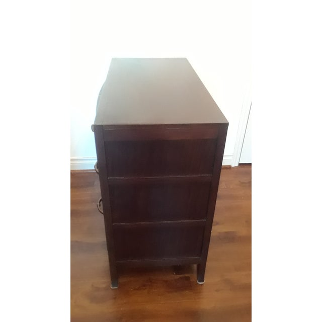 Wood Bernhardt Vintage Bachelor Chest With 4 Drawers For Sale - Image 7 of 9