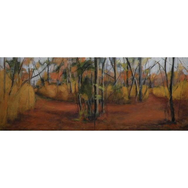"Original Landscape Painting ""Diverge"" - Image 1 of 6"