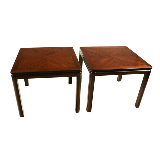 Pair Mid Century Lane Rosewood Side Tables For Sale - Image 11 of 11
