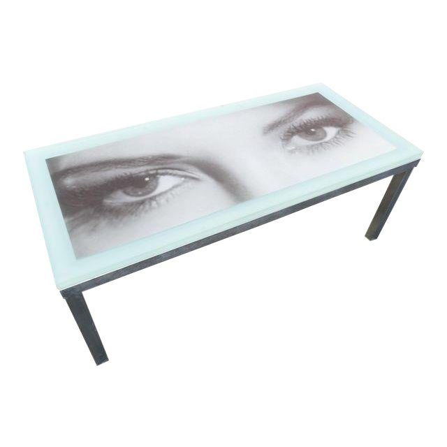 """""""Eye of the Beholder"""" Coffee Table For Sale"""