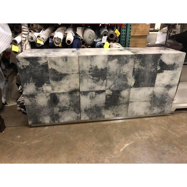 A Secret Warehouse Goatskin Espinoza Buffet For Sale - Image 4 of 4