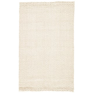 Jaipur Living Tracie Natural White Area Rug - 2′ × 3′ For Sale