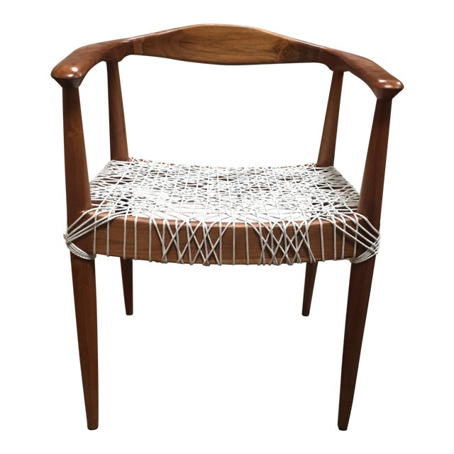 Teak Me Home Reclaimed Teak Wood Ludloe Arm Chair - Image 1 of 4