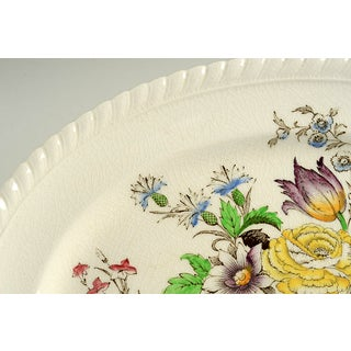 "Johnson Brothers Garden Bouquet 10"" Oval Serving Platter Preview"