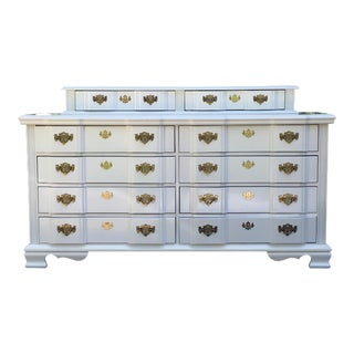 20th Century Superb Chippendale Pagoda Style Dresser For Sale