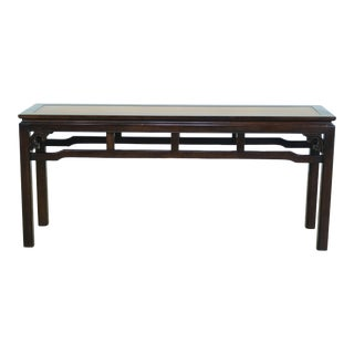 Drexel Chinese Oriental Style Modern Design Sofa Table For Sale