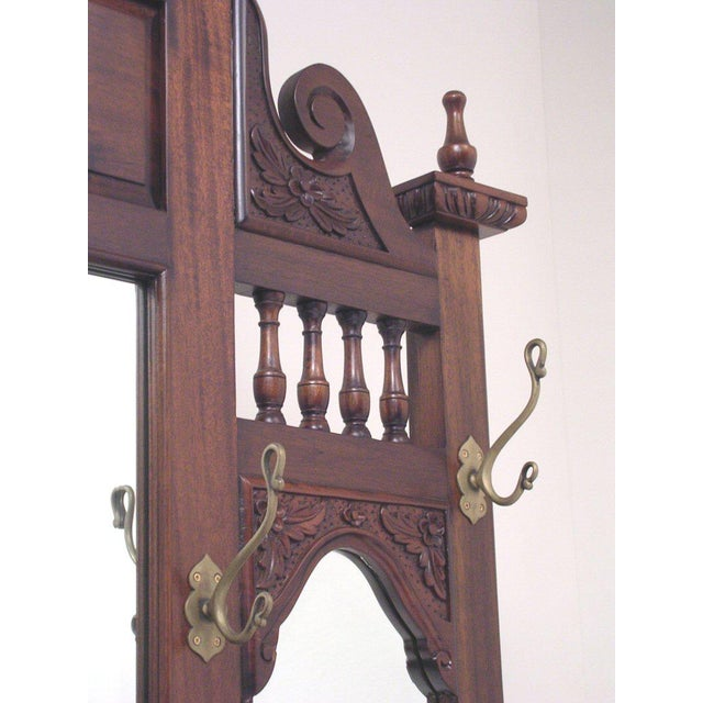 Chippendale Style Hall Tree For Sale - Image 4 of 10