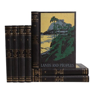 Vintage Geography Readings for Children: Lands & Peoples - Set of 7