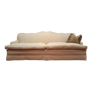 Traditional Down Filled Sofa For Sale