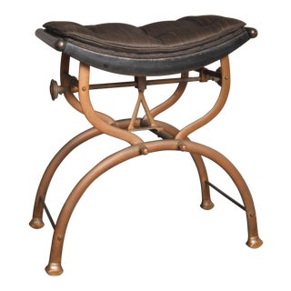Bronze Stool, England 1920s For Sale