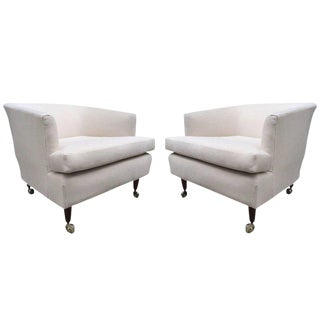 Pair of Kipp Stewart for Directional Lounge Chairs For Sale