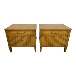 1950s Mid Century Modern Henredon Night Stands - a Pair For Sale