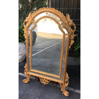 Vintage Cannell & Chaffin Louis XV Giltwood Mirror Preview