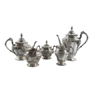 Silverplate Tea & Coffee Set - Set of 5