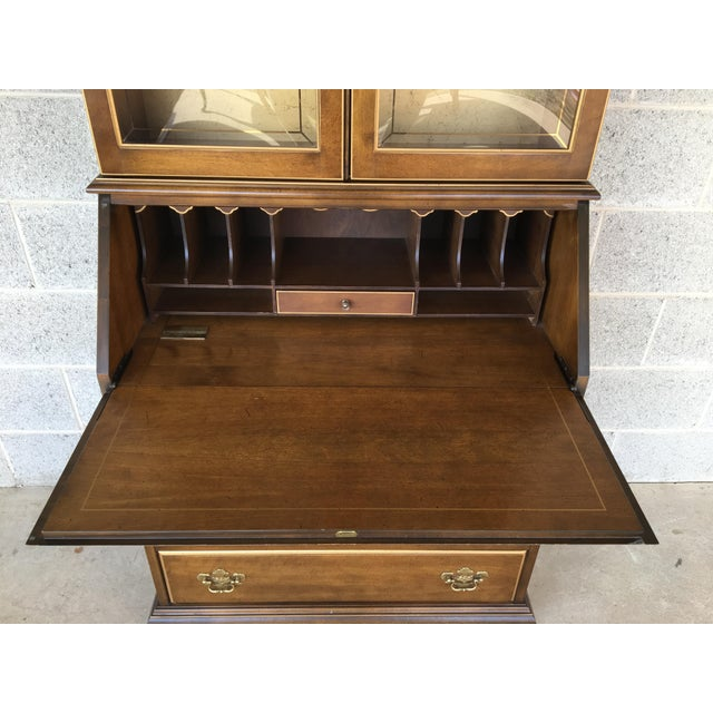 Jasper Morrison Jasper Furniture Lighted Maple Secretary Desk For Sale - Image 4 of 11