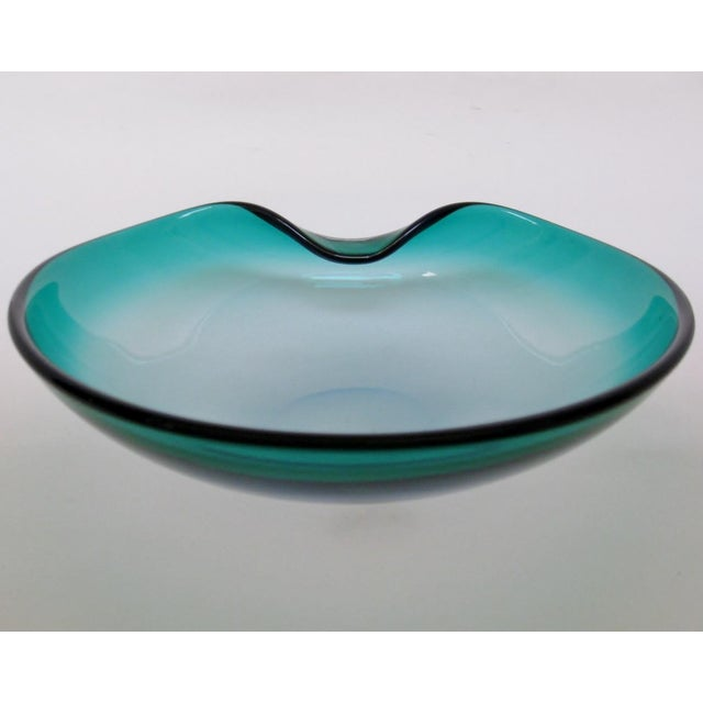 1970s Barbini Glass Centerpiece Bowl For Sale - Image 5 of 7