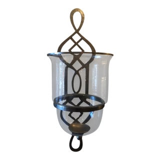 Hurricane Lamp Sconce