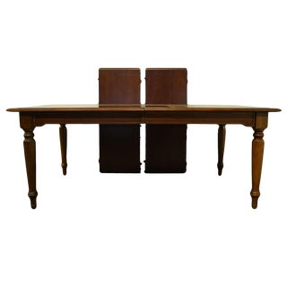 Bernhardt Furniture Cherry Traditional Dining Table For Sale