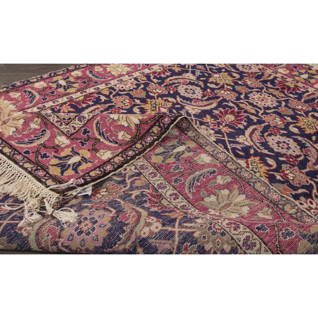 "Islamic Apadana - Antique Turkish Rug, 3'11"" x 5'9"" For Sale - Image 3 of 5"