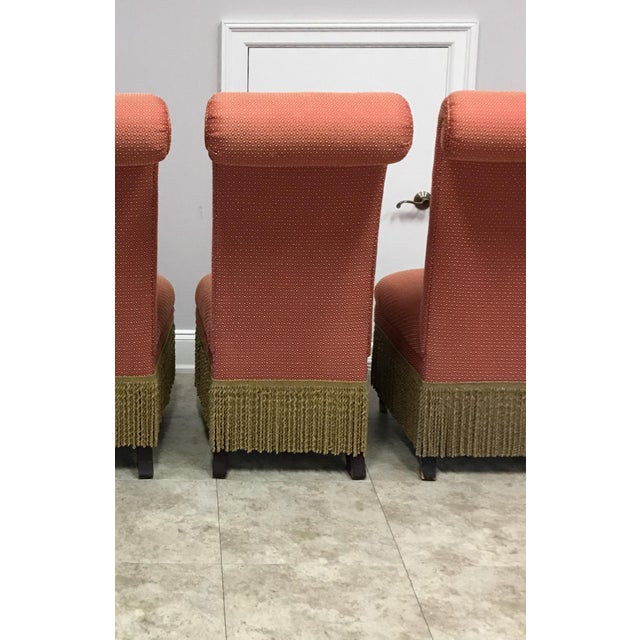 """Lillian August Lillian August """"Carlyle"""" Chairs - Set of 4 For Sale - Image 4 of 10"""