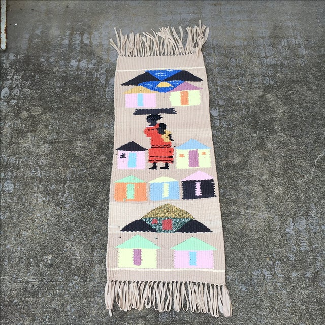 Tribal Hand Woven Rug - Image 2 of 6