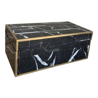 Faux Marble Box For Sale