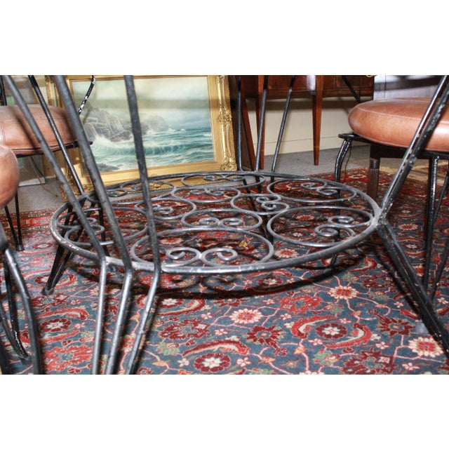 20th Century Art Nouveau Dining Set - 5 Pieces For Sale - Image 4 of 8