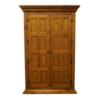 "Lane Furniture Altavista, Va Knotty Pine Rustic Modern 52"" Media Cabinet / Armoire 306-14 For Sale"