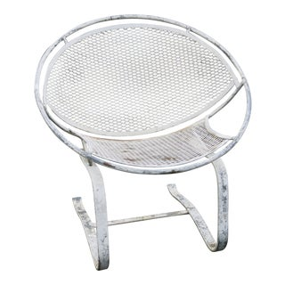 1960s Vintage Salterini Radar Spring Chair Hoop Chair For Sale