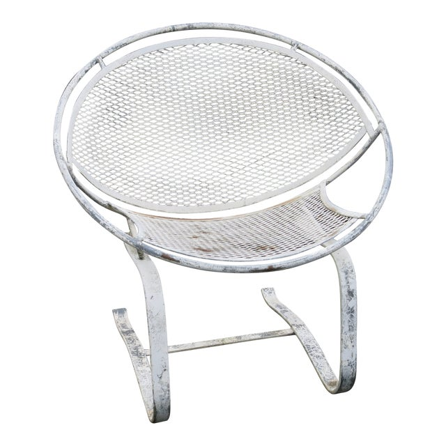 1960s Vintage Salterini Radar Spring Chair Hoop Chair For Sale