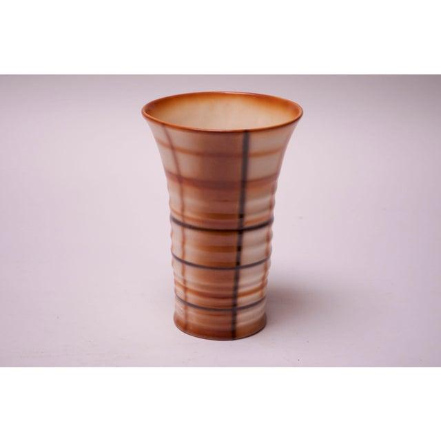 Vintage Erphila Bohemian Art Pottery Vase For Sale - Image 10 of 10
