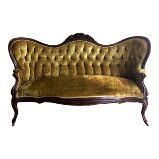 Late 19th Century Antique J. H. Belter Rosalie Sofa For Sale